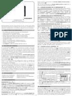 Manual de Instrucciones HWY r3
