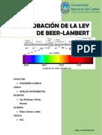 Ley de Beer Lambert IVETTE