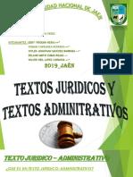 Textos Juridicos y Textos Adminitrativos