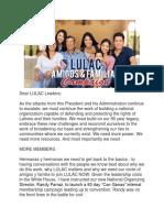 Domingo Garcia - LULAC Con Ganas Organizing Campaign