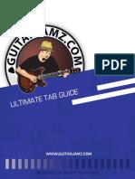 Guitarjamz Ultimate Tab Manual