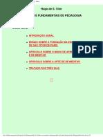 Hugo De Sancto Victore - Principios Fundamentais de Pedagogia.pdf