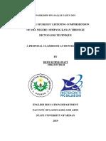 Contoh Proposal PTK untuk SMA