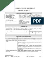Asfalto Emulsiones Modificadas - Ficha de Seguridad.docx