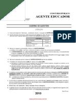 Prova Agente Educadorii 2010