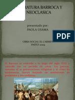 Literatura Barroco y Neoclaica