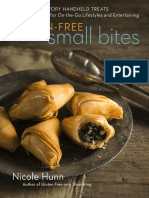 Gluten-Free Small Bites - Sweet and Savory Hand-Held Treats for on-The-Go Lifestyles and Entertaining