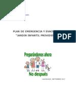 Plan de Emergencia 2017 Octubre
