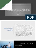Tecnologia en La Robotica