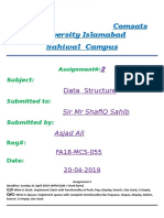 FA18-MCS-055 data structure assignment 2.docx