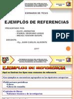 3. Seminario de Tesis Ejemplos de Referencia