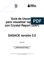 Crystal reports en sap