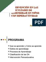 DIFICULTADES DE APRENDIZAJE Y ESTRATEGIAS