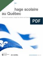 Décrochage Scolaire Au Québec