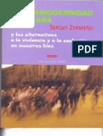La desmodernidad mexicana, Sergio Zermeño