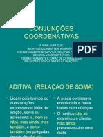 Português PPT - Conjunções Coordenativas
