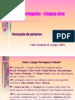 Português PPT - Derivação
