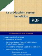 La Producción- Costos de Producción