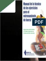 Manual de la Técnica de los Ejercicios Para el Entrenamiento de la Fuerza (NSCA).pdf