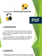 Programa Protección Auditiva