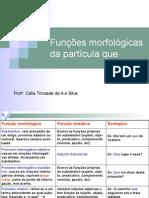Português PPT - Função Morfológica
