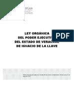 Ley Orgánica Del Poder Ejecutivo Del Estado de Veracruz