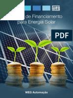 WEG Linhas de Financiamento Para Energia Solar Pt