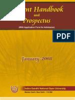 Prospectus 2008