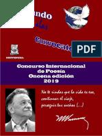 Convocatoria Concurso Poesía 11na Edición
