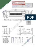 LCD Datasheet YC2002A