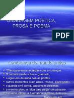 Português PPT - Linguagem Poética