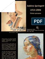 2 40 Sabino Springett Pintor Peruano Nº 55.Pps