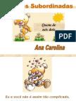 Português PPT - Orações Subordinadas 01