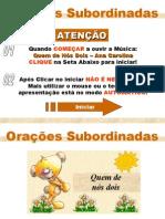 Português PPT - Orações Subordinadas 02