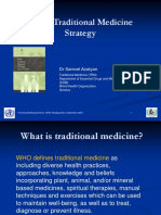 WHO Traditional Medicine