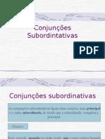 Português PPT - Orações SubordinadasI
