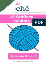 10 graficos de croche