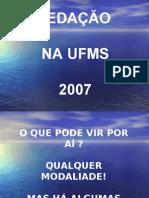 Português PPT - Redação 2007