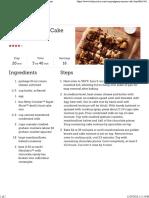 Gooey S'Mores Cake Bars Recipe - BettyCrocker
