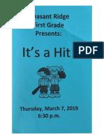 1st grade musical