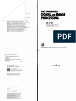 Two Dmension Sgnal and Image Processing by Jae s. Lim