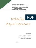 relacion aguacemento.docx