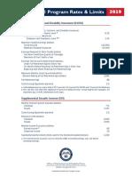 IRS Rates Limits 2019