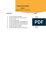 Indice de Planos1