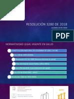 Resolución No. 3280 de 20183280