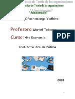 TP Teoria - La Administracion