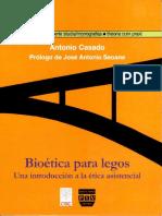 Casado da Rocha, Antonio - Bioética para legos. Una introducción a la ética asistencial.pdf