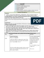 lesson plan 4 angle addition postulate