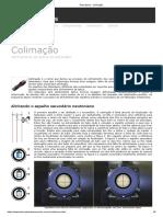 Telescópios - Colimação