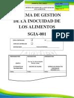 Sgia 001 Sistema de Gestion de La Inocuidad de Alimentos